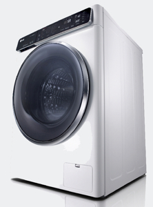 New LG smart washing machine
