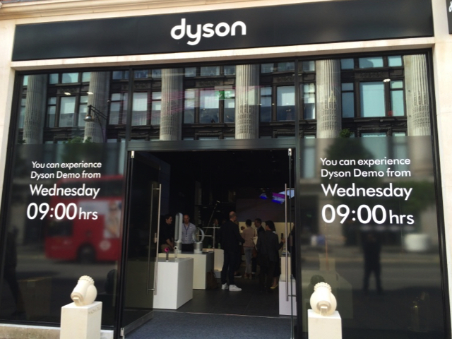 Dyson opens a a dedicated store in Oxford Street London
