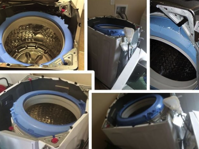 Samsung to be sued over exploding washing machines