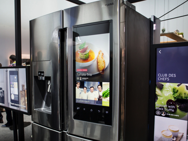 Samsung's Family Hub connected fridge freezer now available in the UK