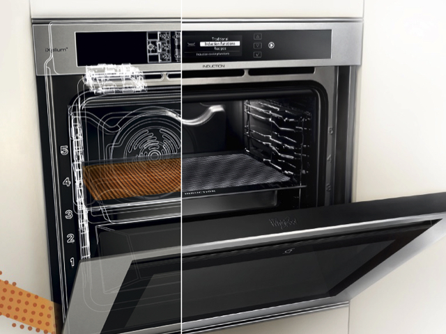 Whirlpool launches an induction oven