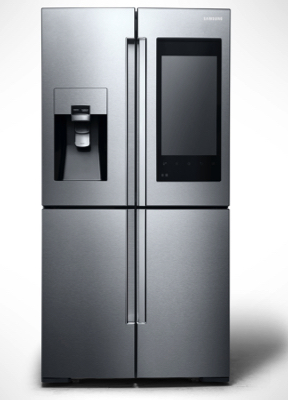 Samsung's new family hub fridge freezer with huge touchscreen