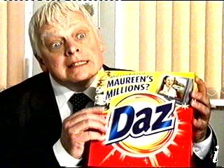 Daz being sold to you on TV