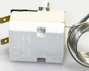 A common oven thermostat used on many cookers and ovens