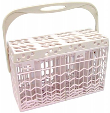 An example of a typical dishwasher basket