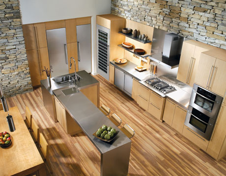 A kitchen full of Bosch appliances