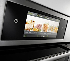 An interent enabled oven from Gorenje