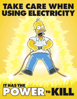 Electricity can kill!