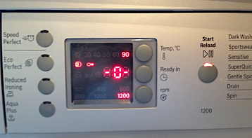 Bosch WAE Range Washing Machine Fault Codes