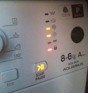 ariston avxl105 error codes
