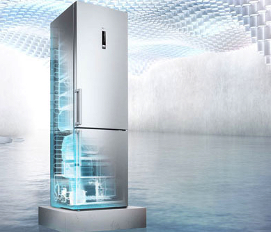 A frost free fridge freezer from Siemens