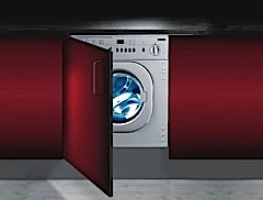 A fully integrated washing machine from Baumatic