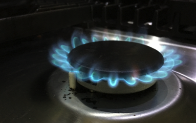 Gas hob no gas coming out