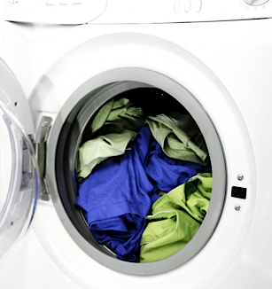 Overloading is the number one cause of holes and tears in laundry from a washing machine