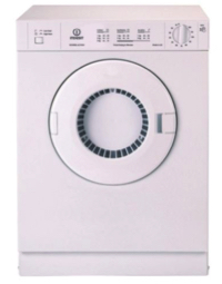 An Indesit vented tumble dryer