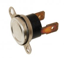 A typical oven safety thermostat