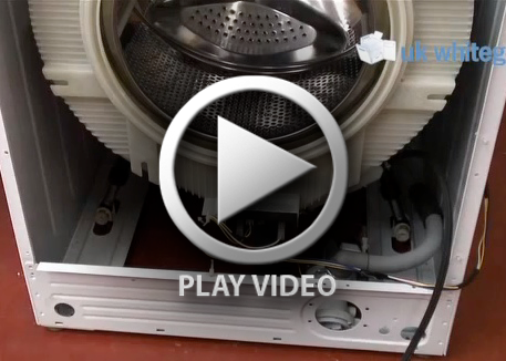 Testing & Fitting A Washing Machine Heater :: Ths video shows you how to remove, fit and how to test a washing machine heating element