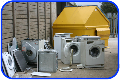 washing machine graveyard
