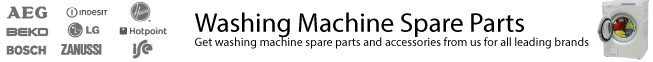 Washing machine spares for all leading brands from UK Whitegoods, for all your washing machine spare parts