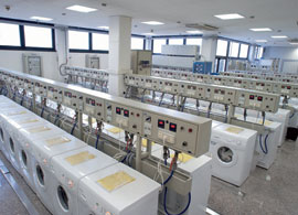 Antonio Merloni washing machines being made