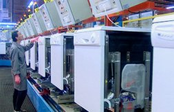 Fagor dishwasher production line