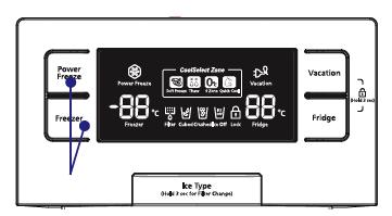 Refrigeration Fault Codes