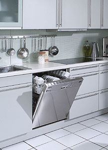 A Miele dishwasher