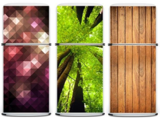 Customise your fridge with large magnetic panels