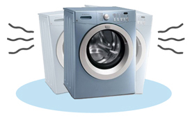 Washing machine vibration and excessive noise